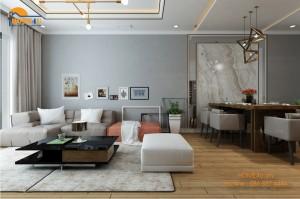 Mẫu thiết kế nội thất chung cư Park Hill hiện đại - NTCC2008