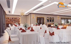 Mẫu thiết kế nội thất nhà hàng hiện đại - NTNH2001