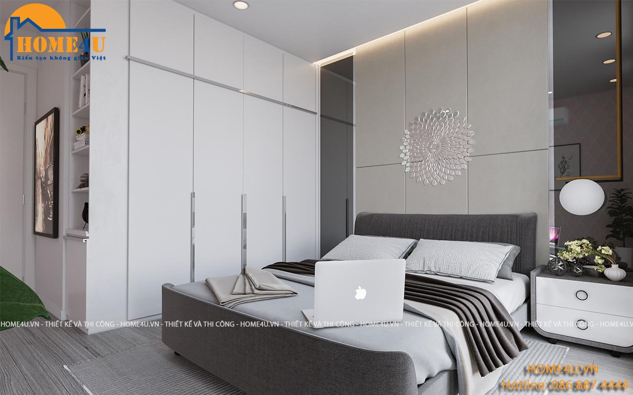 Mẫu thiết kế nội thất phòng ngủ hiện đại - NTPN2001