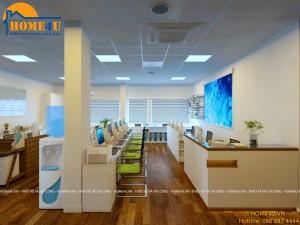 Mẫu thiết kế nội thất văn phòng hiện đại anh Chung - NTVP2004