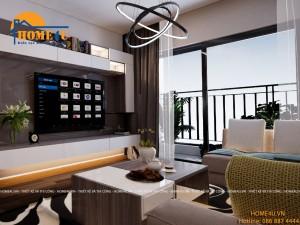 Mẫu thiết kế nội thất chung cư Keangnam hiện đại - NTCC2007