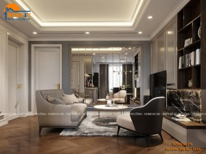 Mẫu thiết kế nội thất chung cư Vinhomes West Point Luxury - NTCC2041