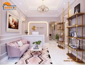Mẫu thiết kế nội thất quán cafe hiện đại - NTCF2001